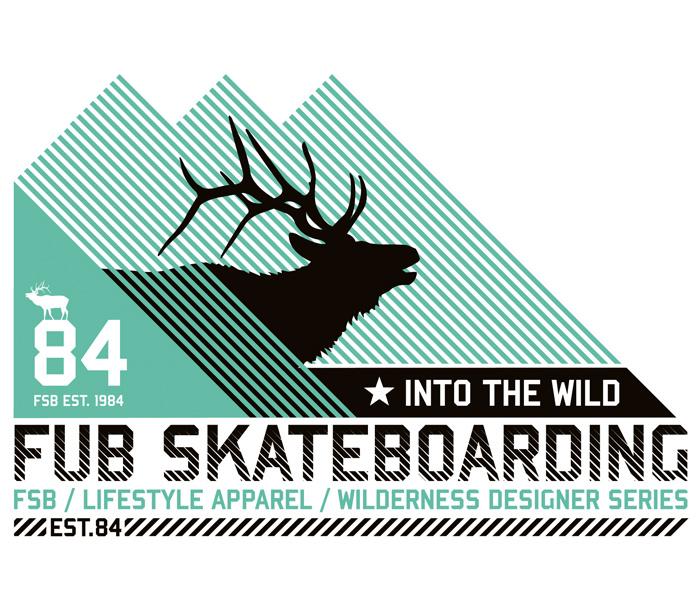 FUB – 'Elk' Wildlife Tee