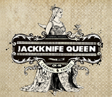 JACKKNIFE QUEEN – ALBUM DESIGN