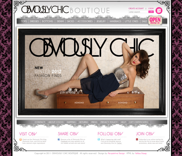 WWW.OBVIOUSLYCHIC.COM