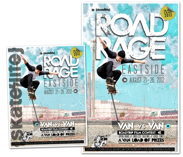 SKATELIFE CANADA – ROAD RAGE 7 POSTERS